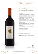ROSSO FAYE 2015 [Pojer & Sandri] 150cl - Once Upon A Vine