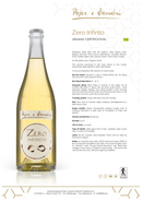 ZERO INFINITO 2018 [Pojer & Sandri] 75cl - Once Upon A Vine Singapore