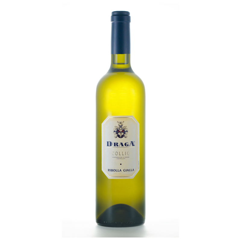 RIBOLLA GIALLA 2018 [Draga] 75cl - Once Upon A Vine Singapore