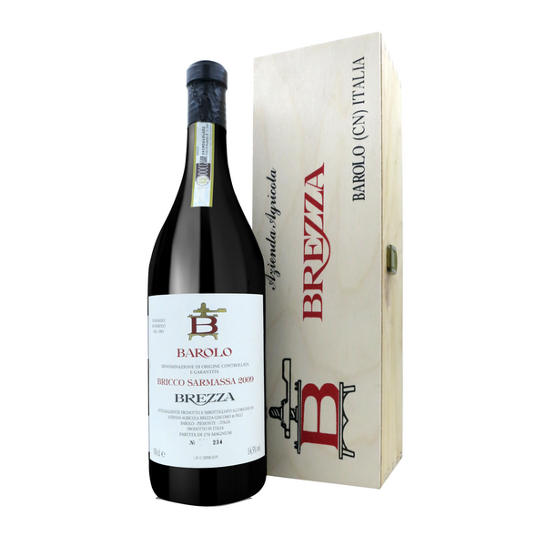 BAROLO Bricco Sarmassa 2009 [Brezza] 150cl - Once Upon A Vine Singapore