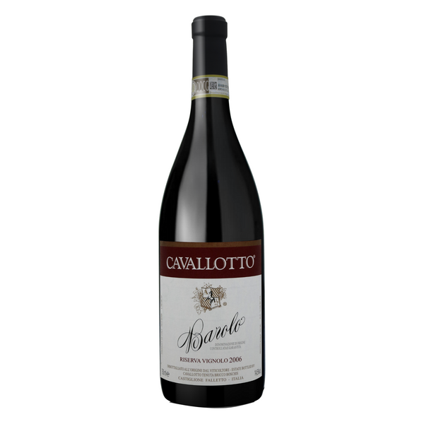 BAROLO Vignolo 2006 [Cavallotto] 75cl - Once Upon A Vine Singapore