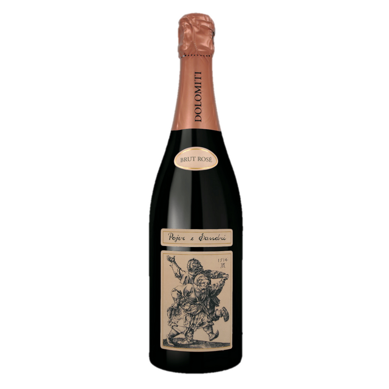 BRUT ROSE Cuvee [Pojer & Sandri] 75cl UVPS91 - Once Upon A Vine Singapore