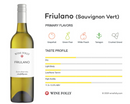 FRIULANO 2018 [Draga] 75cl - Once Upon A Vine
