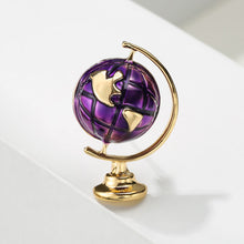 Load image into Gallery viewer, Great Space Life Globe Brooche