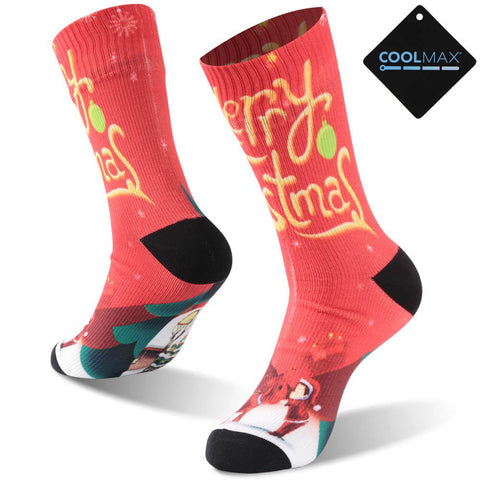 red waterproof socks