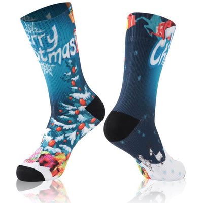 christmas waterproof socks