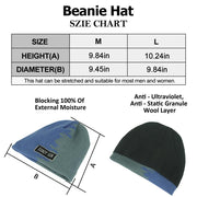 waterproof beanies size