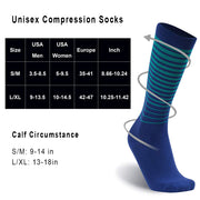 randy sun compression socks size