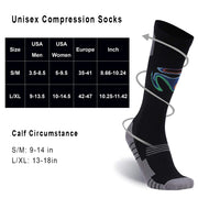 Compression Running Socks 2 Pairs