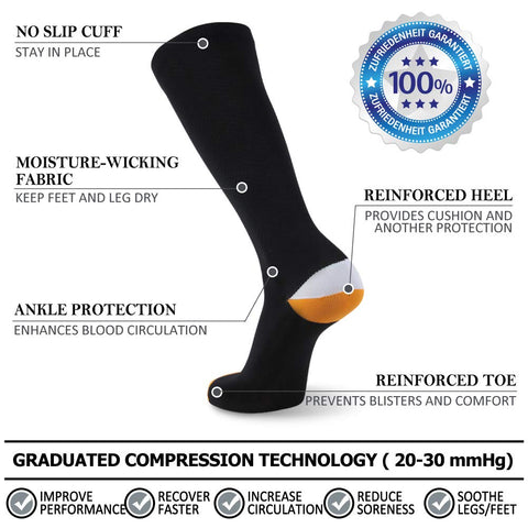 running compression socks