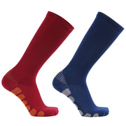 compression socks blue