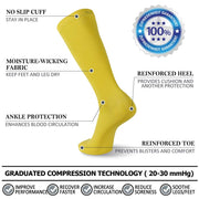 compression socks features