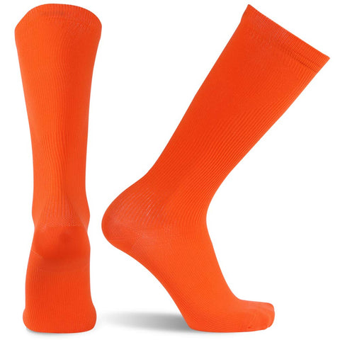 orange compression socks