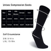 compression socks size