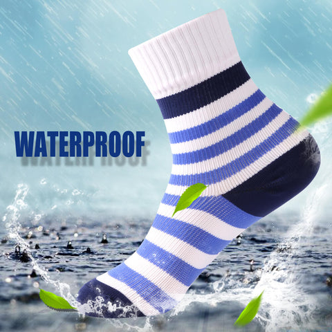 blue waterproof socks