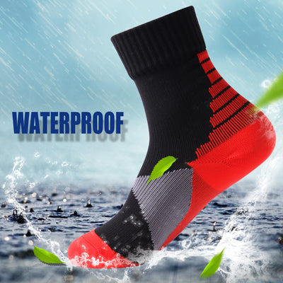 black red waterproof socks kids