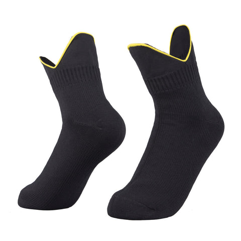 waterproof socks black