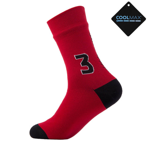 red outdoor socks