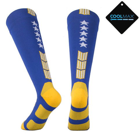 blue yellow waterproof socks