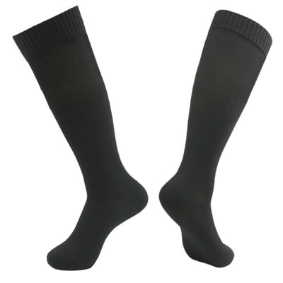 black knee high waterproof socks
