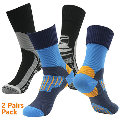 2 pairs waterproof socks