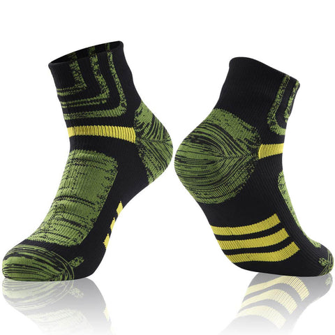 green black ankle waterproof socks