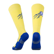 yellow soccer socks