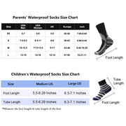 toddlers waterproof socks size