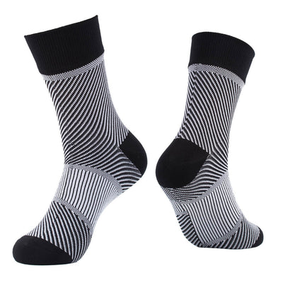 black white waterproof socks