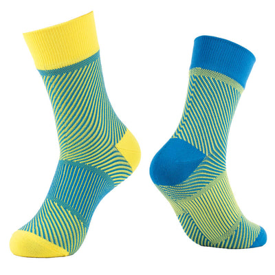 waterproof socks yellow green