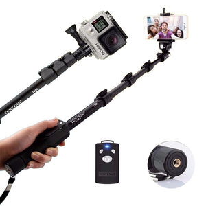 Yunteng Handheld Bluetooth Selfie Stick Monopod Self Pole for Mobile Phones - VT 1288