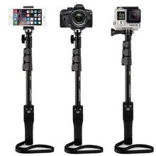 Load image into Gallery viewer, Yunteng Handheld Bluetooth Selfie Stick Monopod Self Pole for Mobile Phones - VT 1288