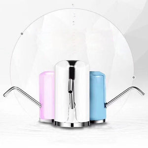 Drinking Water Pump Dispenser Rechargeable Portable Electric Bottle C60 for Home and Office Use