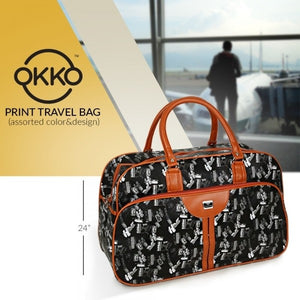 OKKO Tatoo Print Travel Bag