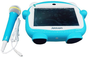 JETTOM J1 Play And Learn Kids Tablet 7 Inch 4GB, 512 MB DDR3, WiFi, Quad Core, Camera, Android Calling Function + FREE Microphone! - TUZZUT Qatar Online Store