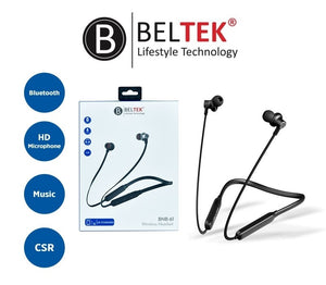 BELTEK NECK BAND WITH CSR CHEPSET AND MAGNET - BNB-61 - TUZZUT Qatar Online Store