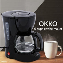 Load image into Gallery viewer, Okko 5 Cups Coffee Maker CM-108 - TUZZUT Qatar Online Store