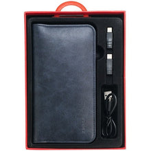 Load image into Gallery viewer, 2-in-1 ZHUSE Universal Leather Wallet with 6800mAh Power Bank