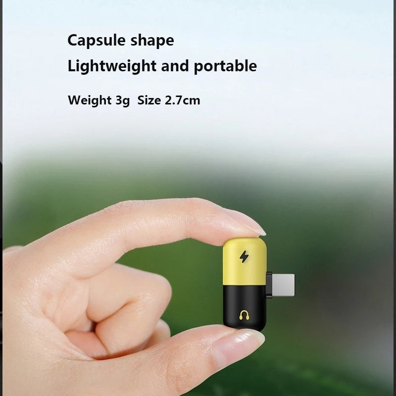 Capsule Lightning Splitter for iPhone - LS130 - TUZZUT Qatar Online Store