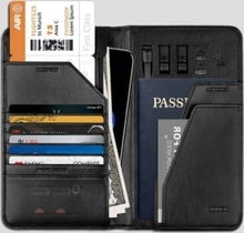 Load image into Gallery viewer, 2-in-1 ZHUSE Universal Leather Wallet with 10000mAh Power Bank
