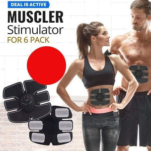 EMS6 EMS Beauty Body Mobile-Gym Machine Muscle Stimulator for 6 Pack - TUZZUT Qatar Online Store