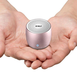 Super Quality EWA A103 Portable Wireless Bluetooth Small Metal Speaker For Mobile Phone/PC/Tablets