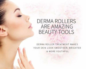 Derma Roller 1.5mm With 540 Titanium Alloy Needles - TUZZUT Qatar Online Store