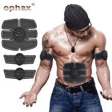 Load image into Gallery viewer, ABS Training Device (1 x Tummy pad, 2 x Arm pads) Rechargeable - TUZZUT Qatar Online Store