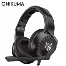 Load image into Gallery viewer, ONIKUMA K19 3.5mm Jack Stereo Gaming Headset Headphone for PS4 NewXbox One PC Tablet Laptop with Mic LED Light - TUZZUT Qatar Online Store
