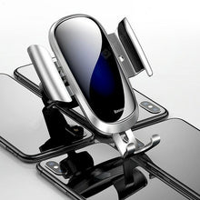Load image into Gallery viewer, Baseus SUYL - WL01 Gravity Reaction Air Vent Mount Mobile Phone Holder - Silver - TUZZUT Qatar Online Store