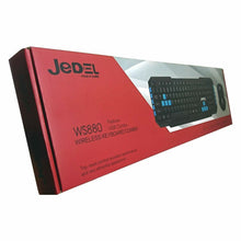 Load image into Gallery viewer, Jedel 2.4Ghz Wireless Keyboard and Optical Mouse WS880 - TUZZUT Qatar Online Store