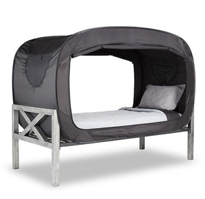 Privacy POP Bed Tent, With Double sided zippers - Black - TUZZUT Qatar Online Store