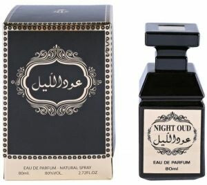 Night Oud for Men & Women - Eau de Parfum, 80ml - TUZZUT Qatar Online Store