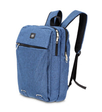 Load image into Gallery viewer, OKKO Casual Backpack with USB port - 16 Inch (Blue)